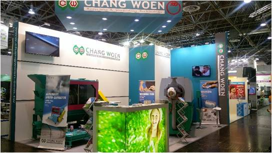 CHANG WOEN / K 2016 Follow up – Russian customers visit Hong Kong PE film washing line